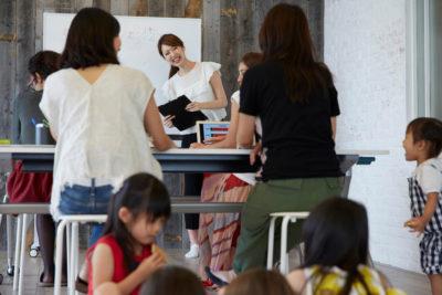 【19年9月開催】モナミカフェ「ママのためのお役立ちセミナー」の様子